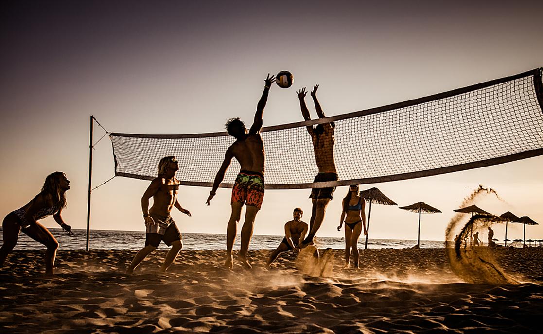 沙滩排球赛事拍摄